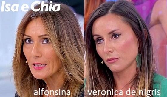 Somiglianza tra Alfonsina e Veronica De Nigris