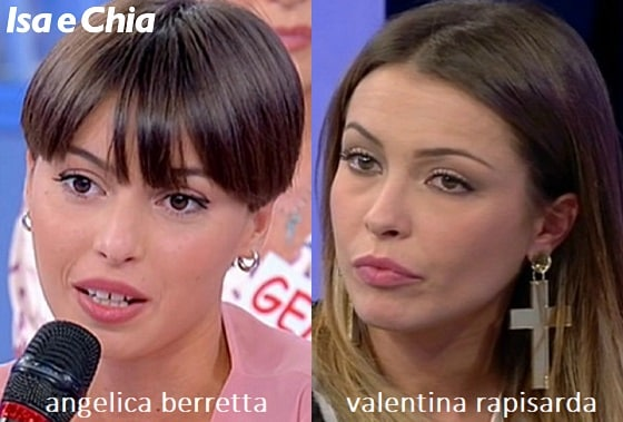 Somiglianza tra Angelica Berretta e Valentina Rapisarda