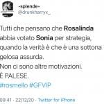 Twitter - Rosalinda e Sonia
