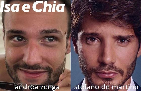 Somiglianza tra Andrea Zenga e Stefano De Martino