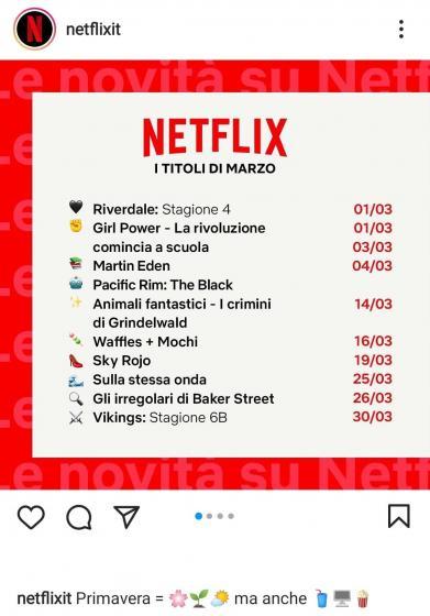 Netflix, tutte le novità in arrivo a marzo 2021!