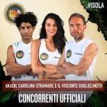Isola 15 - Akash Kumar, Carolina Stramare e Il visconte Guglielmotti