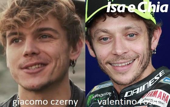 Somiglianza tra Giacomo Czerny e Valentino Rossi