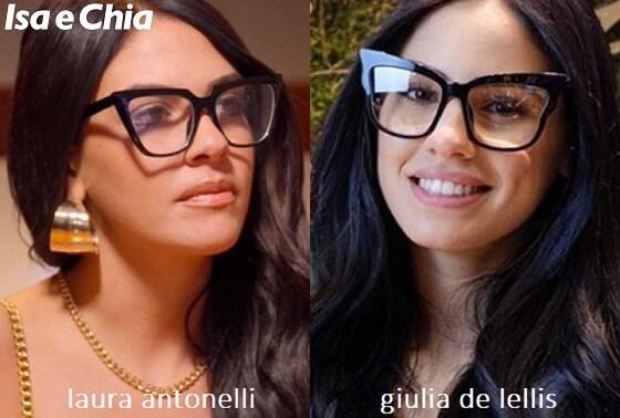 Somiglianza tra Giulia De Lellis e Laura Antonelli de 'La Pupa e il Secchione e viceversa'