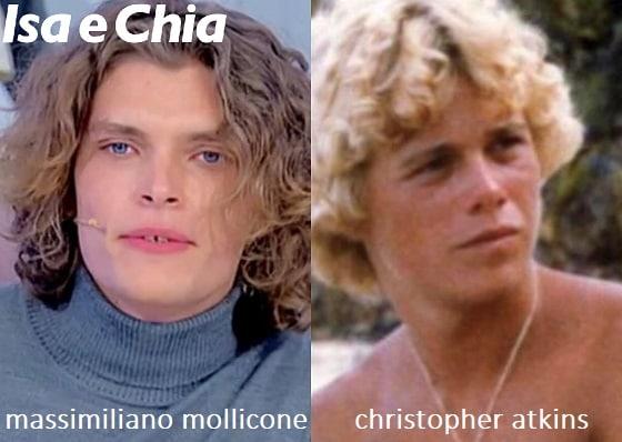 Somiglianza tra Massimiliano Mollicone e Christopher Atkins