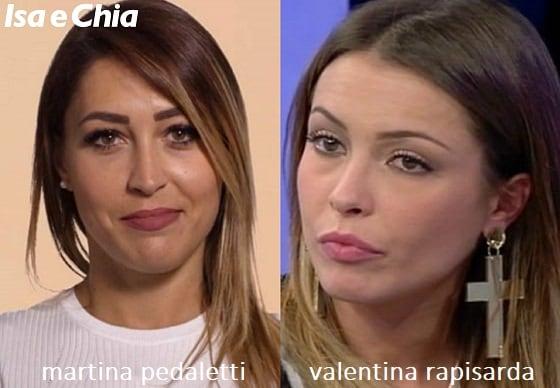 Somiglianza tra Valentina Rapisarda e Martina Pedaletti di 'Matrimonio a prima vista'