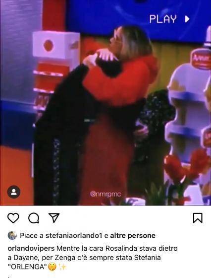 Rosalinda Cannavò contro Stefania Orlando