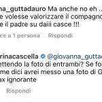 Karina Cascella sotto attacco