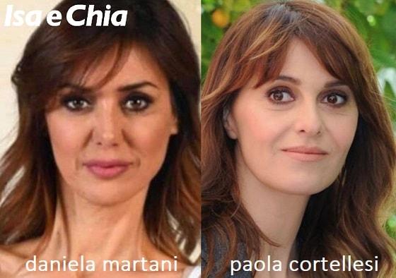 Somiglianza tra Daniela Martani e Paola Cortellesi