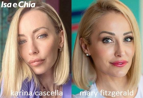 Somiglianza tra Karina Cascella e Mary Fitzgerald di Selling Sunset