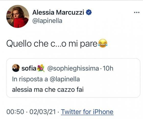Twitter - Alessia Marcuzzi