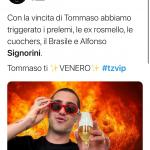 Twitter - Alfonso Signorini