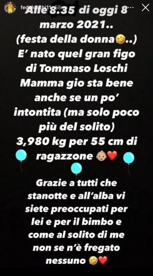 Giorgia Lucini mamma Tommaso
