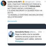 Twitter - Rosalinda Cannavò