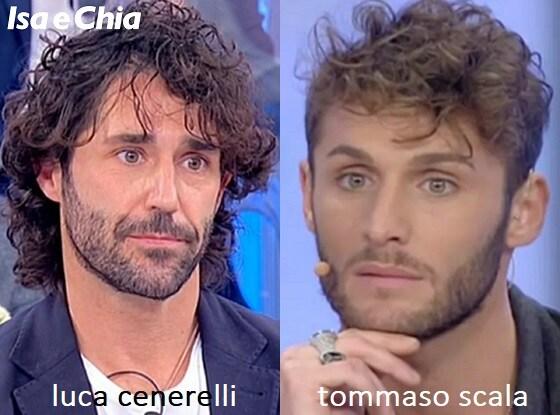 Somiglianza tra Luca Cenerelli e Tommaso Scala