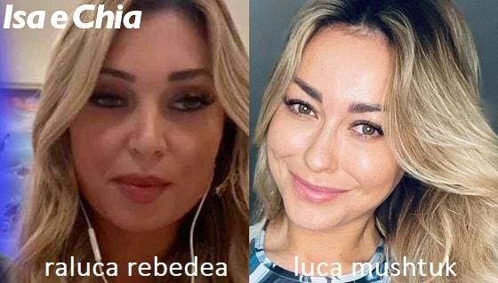 Somiglianza tra Raluca Rebedea e Luba Mushtuk
