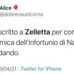 Twitter - Andrea Zelletta