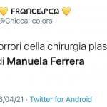 lato b di Manuela Ferrera tweet