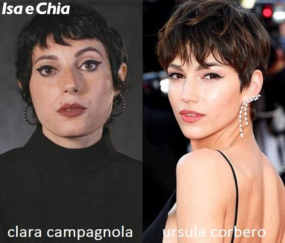 Somiglianza tra Clara Campagnola di Matrimonio a prima vista Italia e Tokyo de La Casa di Carta