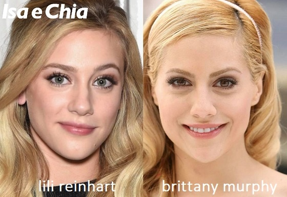 Somiglianza tra Lili Reinhart e Brittany Murphy