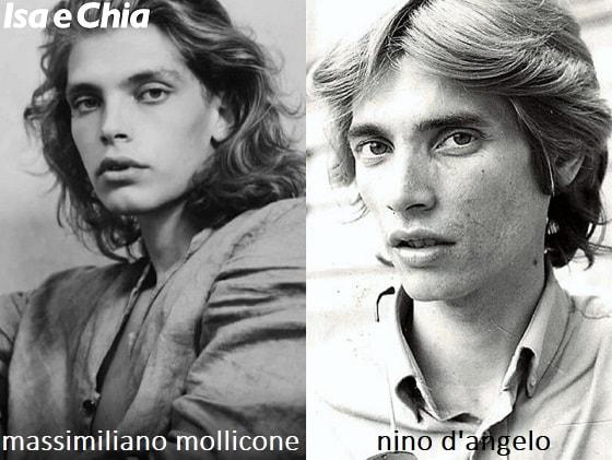 Somiglianza tra Massimiliano Mollicone e Nino D'Angelo