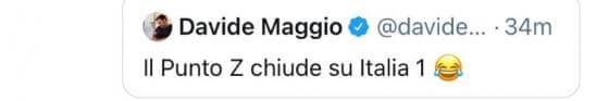 Twitter - Davide Maggio