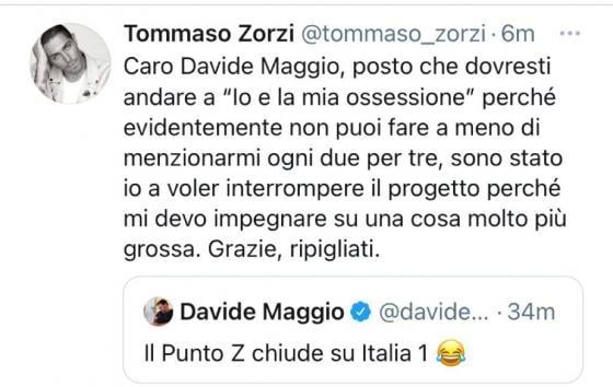 Twitter - Tommaso Zorzi
