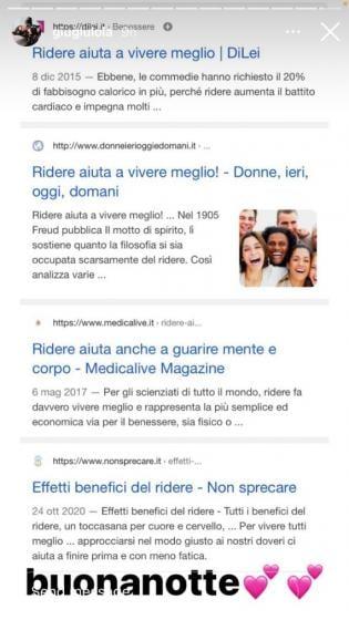 Giulia Stabile IG storia