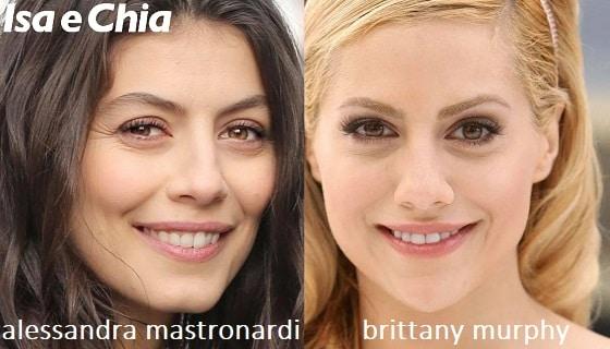 Somiglianza tra Alessandra Mastronardi e Brittany Murphy