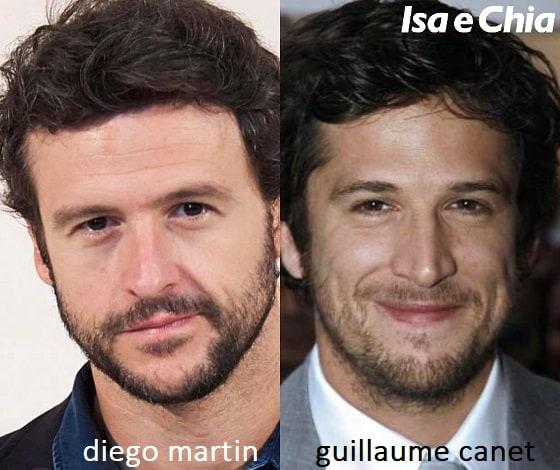 Somiglianza tra Diego Martin e Guillaume Canet