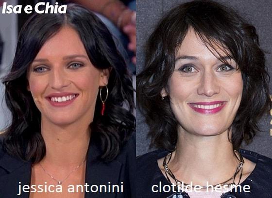 Somiglianza tra Jessica Antonini e Juliette Pellegrini di Lupin