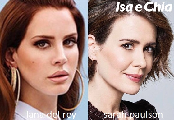 Somiglianza tra Lana Del Rey e Sarah Paulson