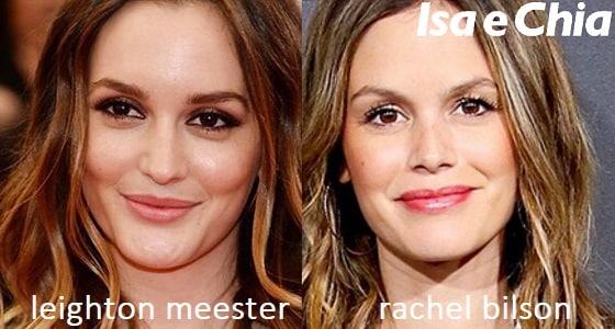 Somiglianza tra Leighton Meester e Rachel Bilson