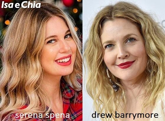 Somiglianza tra Serena Spena di Temptation Island e Drew Barrymore