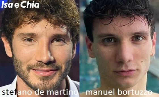 Somiglianza tra Stefano De Martino e Manuel Bortuzzo
