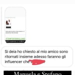 Stefano Sirena e Manuela