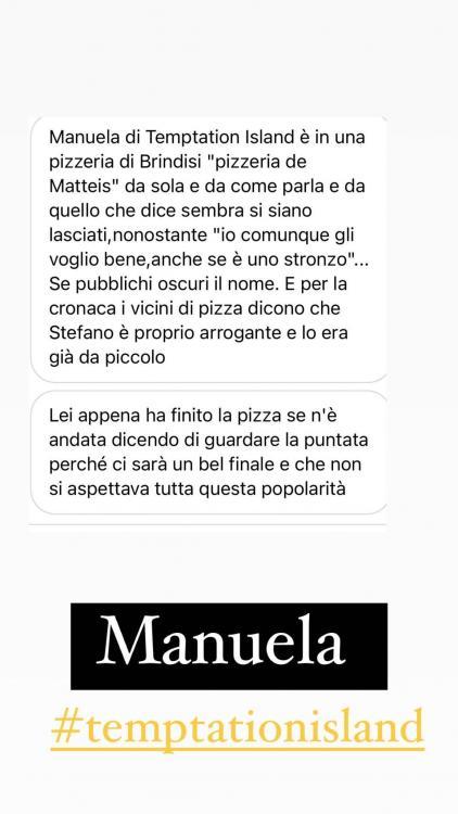 Stefano Sirena a letto con l'ex tentatrice Federica: nuove accuse a Manuela Carriero