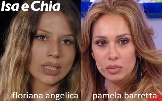 Somiglianza tra Floriana Angelica e Pamela Barretta