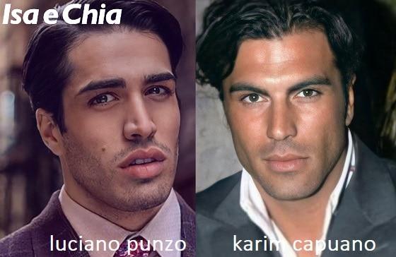 Somiglianza tra Luciano Punzo e Karim Capuano