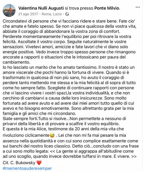 Valentina Facebook