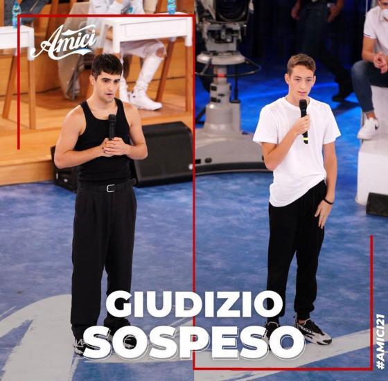 Amici 21 - Gianmarco e Mattias