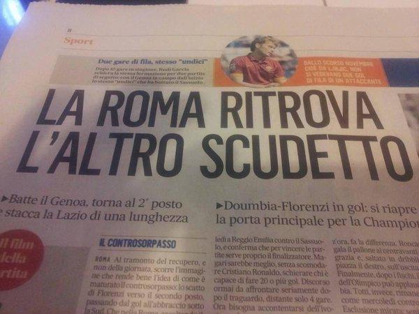 L'altro scudetto roma