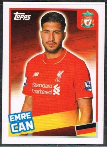 Merlins-Premier-League-2016-Sticker-Collection-177.- Emre-Can-(Liverpool)-177