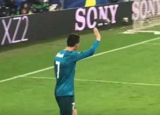 ronaldo applauso