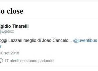 toptweets juve sassuolo