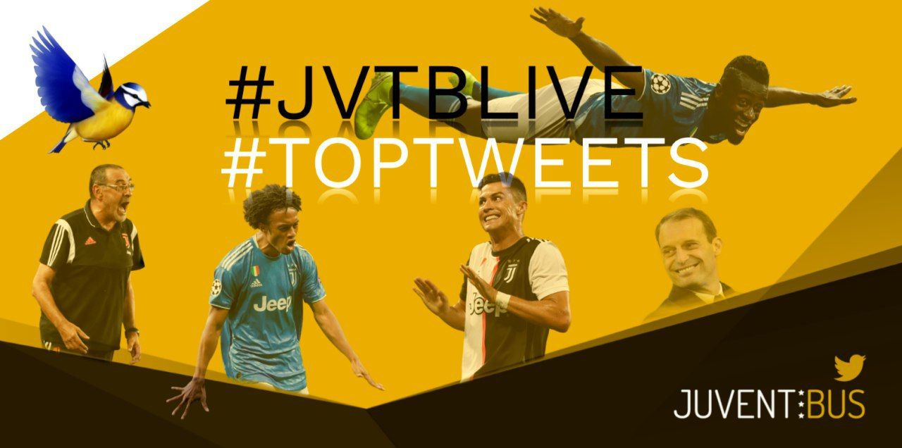 TopTweets Juve-Brescia 2-0 #JvtbLive | Juventibus