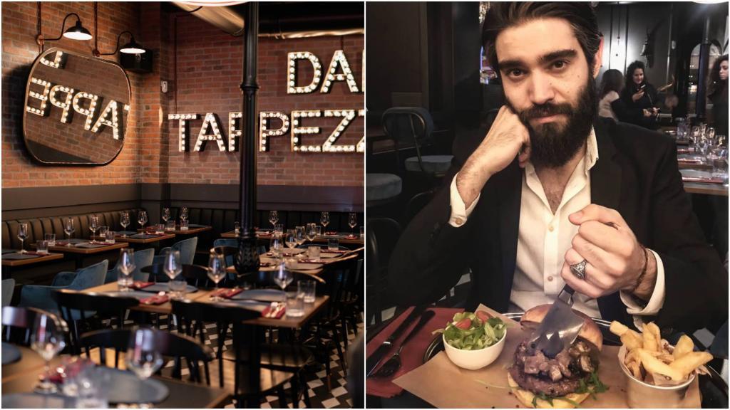 ristorante dal tappezziere roma