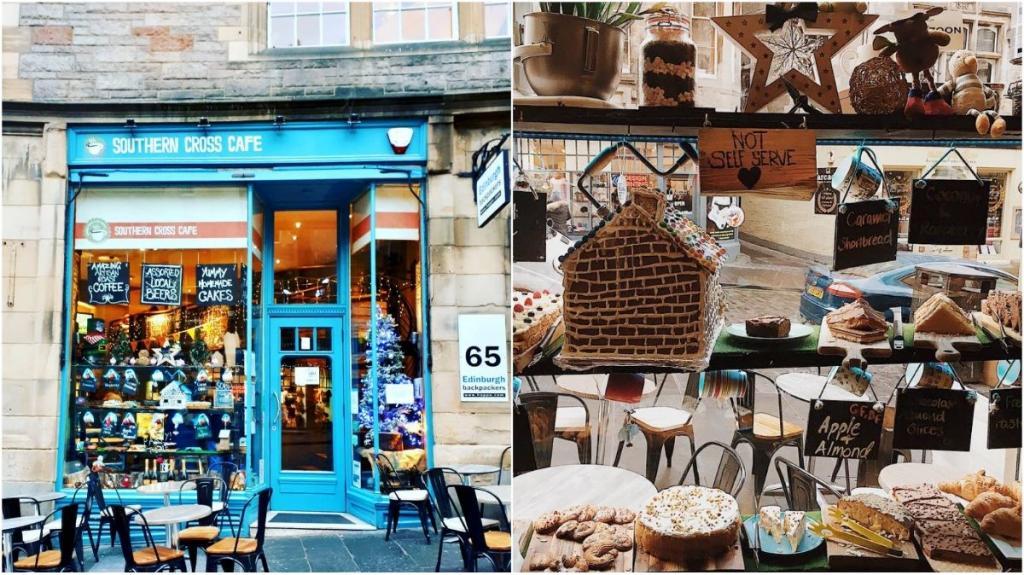 southern cross cafe edimburgo