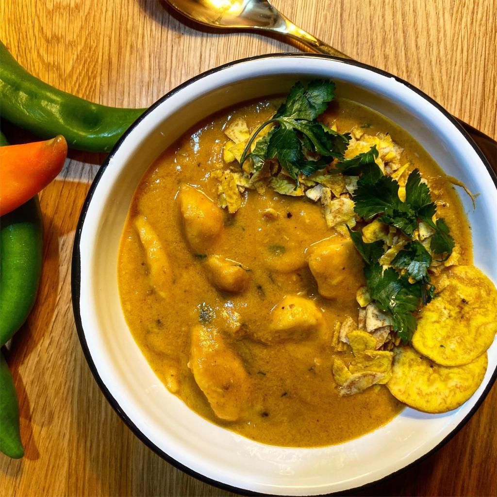 tropical curry papaya ricetta
