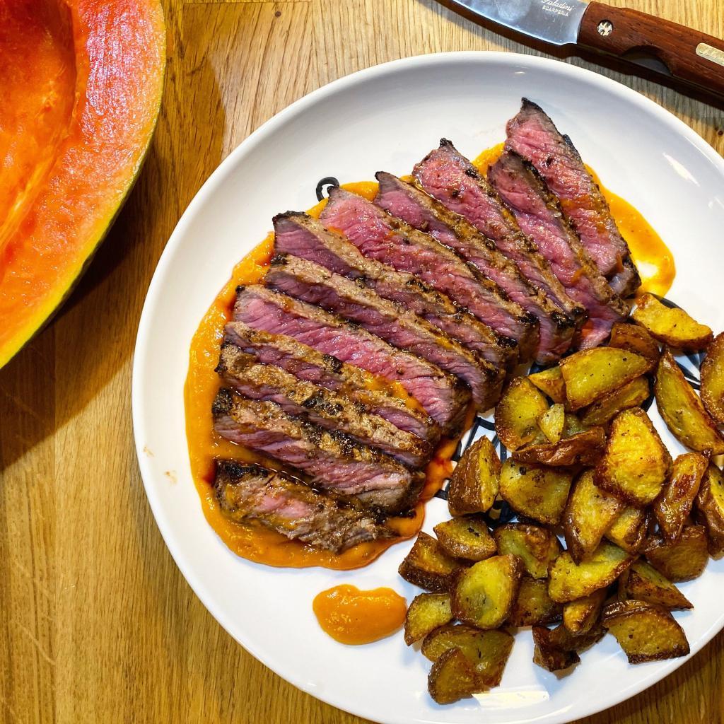 bistecca economica papaya ricetta